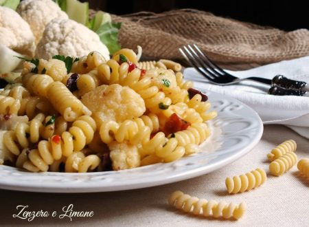 Pasta with cauliflower recipe