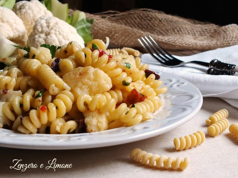 pasta with cauliflower
