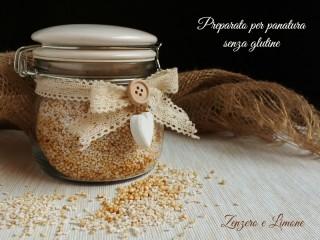 preparato per panatura senza glutine