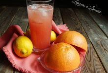 Refreshing grapefruit drink