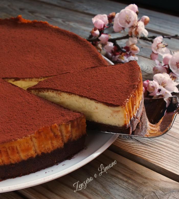 Popolare Cheesecake al cioccolato bianco | Zenzero e Limone QG79