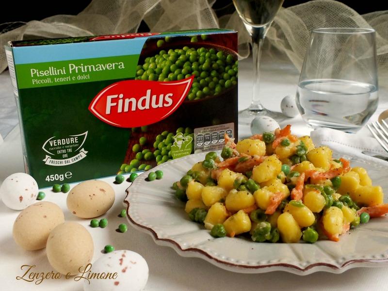 chicche di patate con pisellini - Findus -