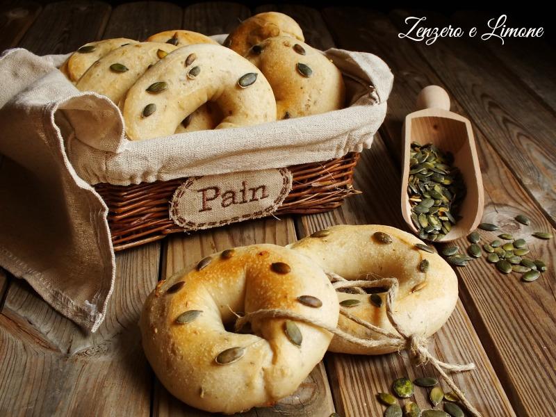 ciambelle di pane -