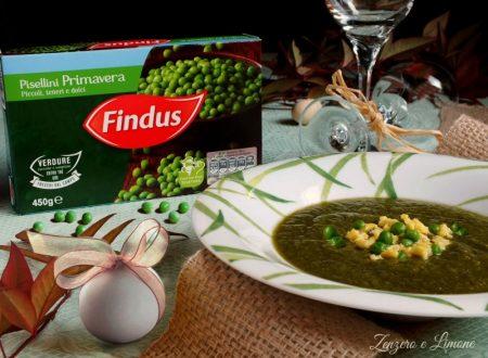 Crema di Pisellini e lattuga