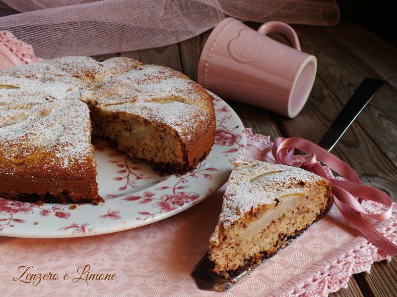 torta pere cioccolato senza glutine -