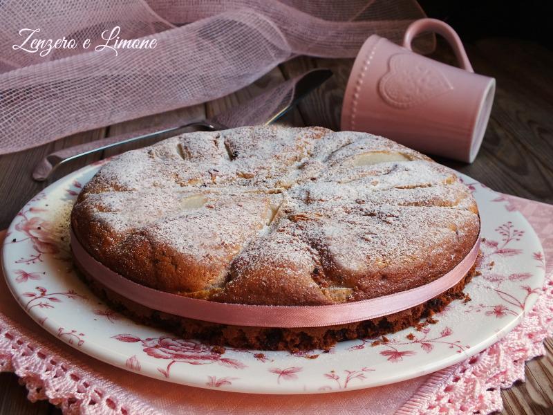 Torta Pere Cioccolato Senza Glutine