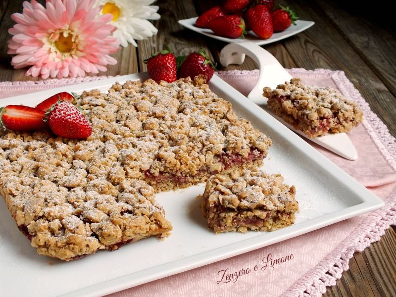 crumble alle fragole-