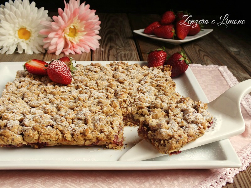 crumble alle fragole 2