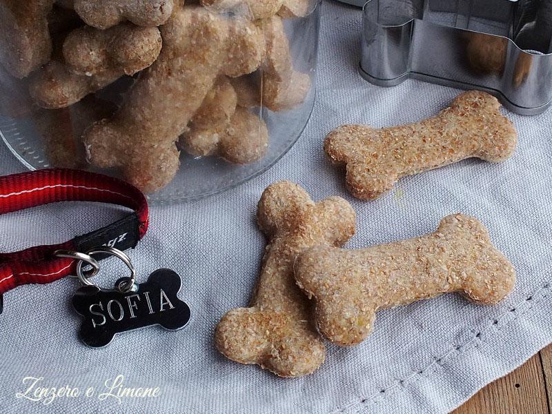 biscotti per cani alle patate - dettaglio
