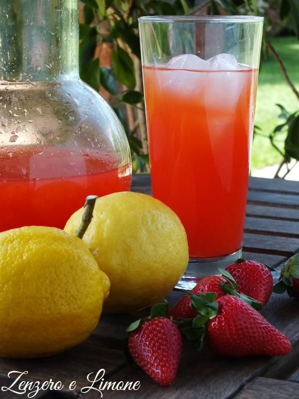 limonata alle fragole -
