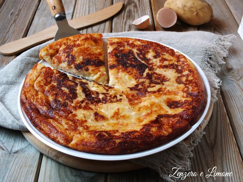 Pizza di Patate con Prosciutto e Mozzarella