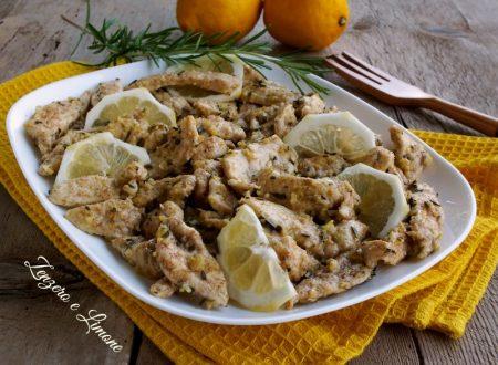 Straccetti di pollo al limone