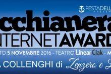 Candida Zenzero e Limone ai Macchianera Internet Awards