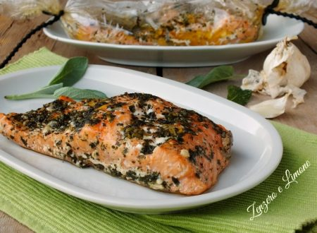 Filetti di salmone al cartoccio