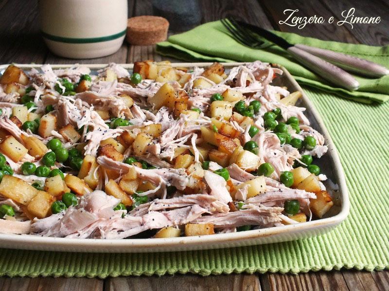 Insalata di tacchino e patate