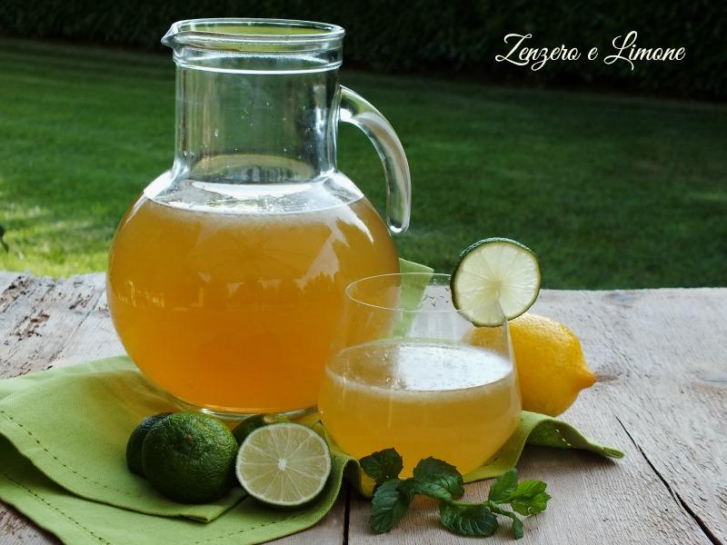 Ricetta Mojito Brocca.Limonata Mojito Analcolica Zenzero E Limone