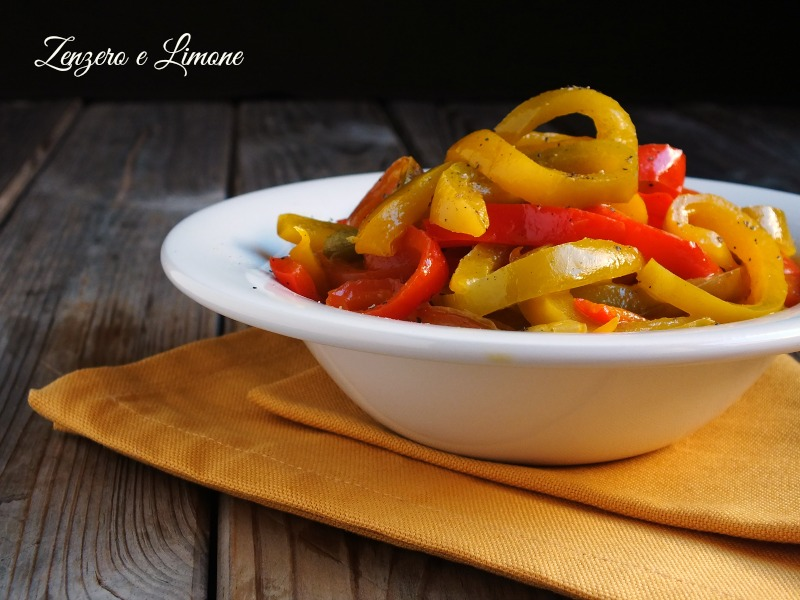 peperoni in agrodolce