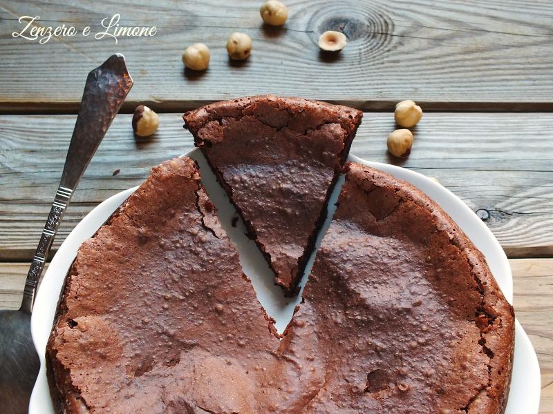 torta alla crema di nocciole -