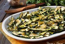 Insalata di zucchine cotte al sole
