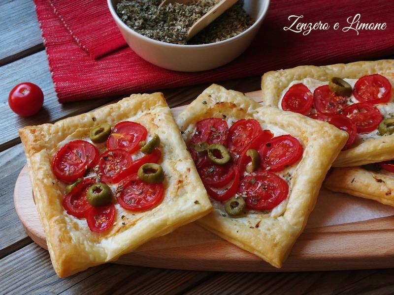 Sfogliatine alla pizzaiola