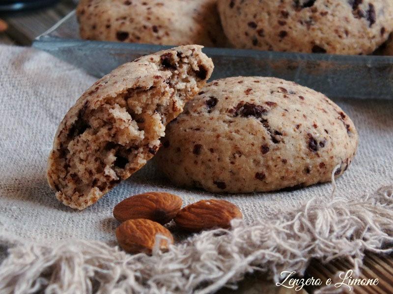 biscotti con okara di mandorle