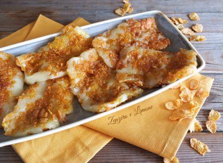 Cotolette di formaggio con panatura croccante