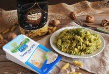 Pasta al gorgonzola e crema di rucola