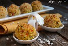 Polpette di riso e verdure