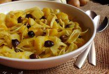 Insalata di patate e finocchi alla curcuma