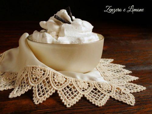 Crema Chantilly ricetta francese