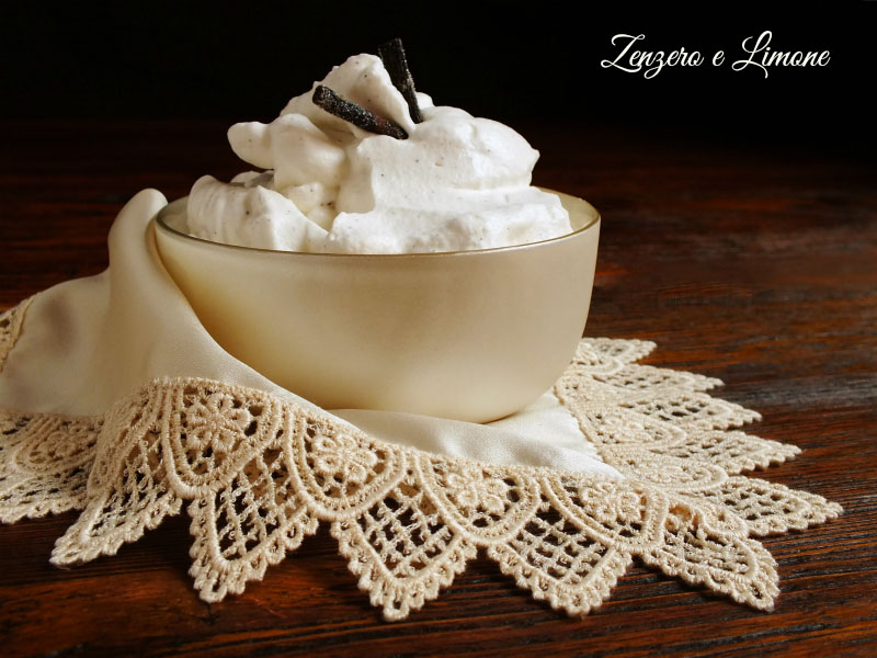 crema chantilly ricetta francese