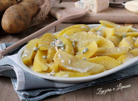 Patate al gorgonzola