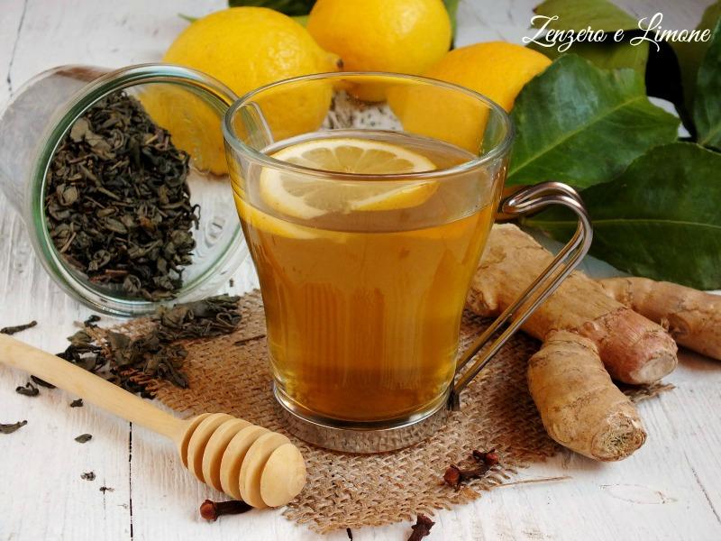 tè verde allo zenzero