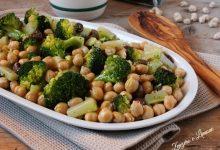 Ceci con broccoli e olive