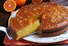 Pan d'arancio – ricetta con arancia frullata