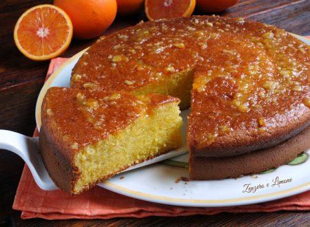 Pan d'arancio - ricetta con arancia frullata