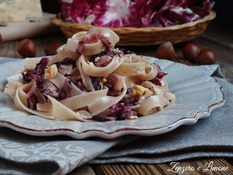 Tagliatelle Radicchio e Gorgonzola
