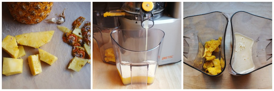 torta acqua e ananas - procedimento 1