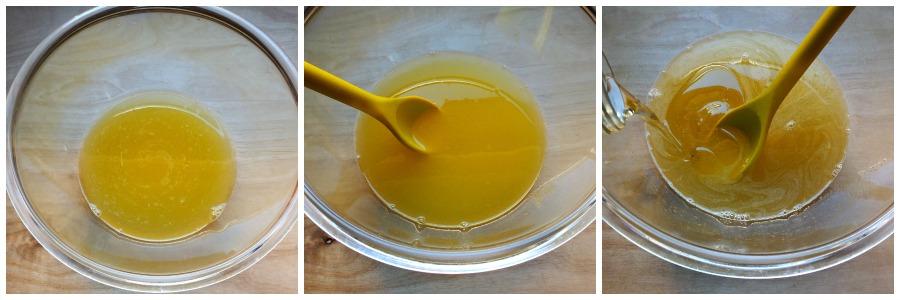 torta acqua e ananas - procedimento 2