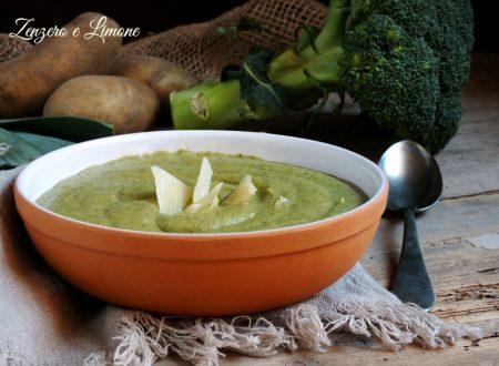 Vellutata broccoli e patate