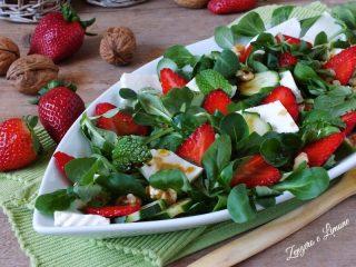 insalata con le fragole