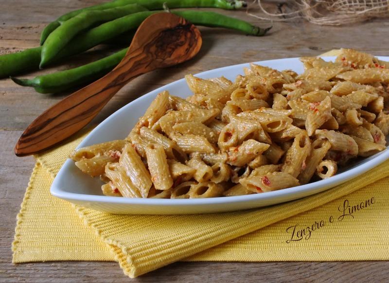 Pasta Fave e Pomodori Secchi