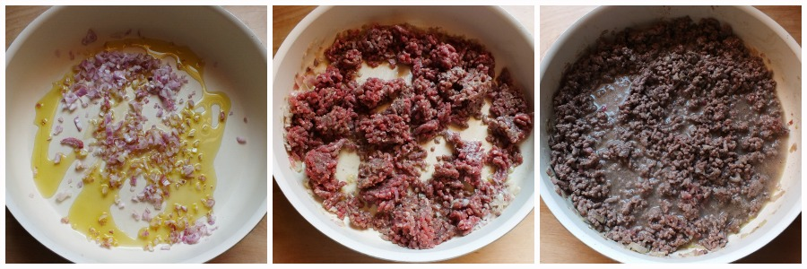 torta di carne - procedimento 1