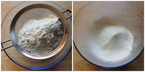 torta di formaggio - procedimento 1