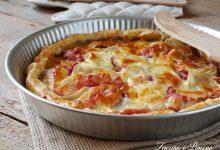Torta salata alle patate e prosciutto