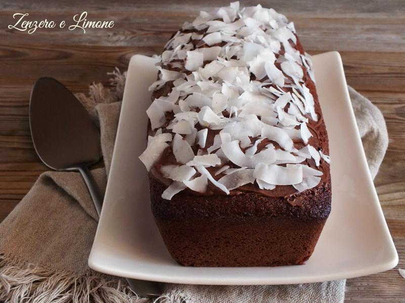 Plumcake Cocco e Crema di Nocciole