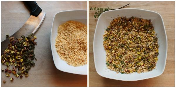straccetti pollo con crumble - procedimento 1