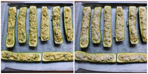 zucchine ripiene - procedimento 4