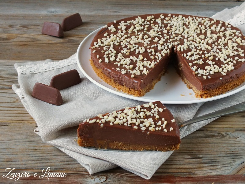 cheesecake al gianduia