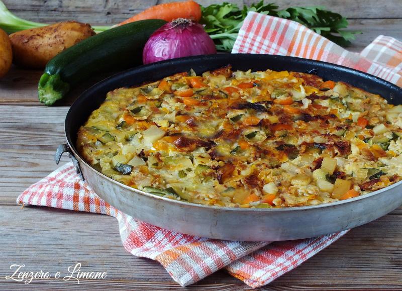 frittata di verdure
